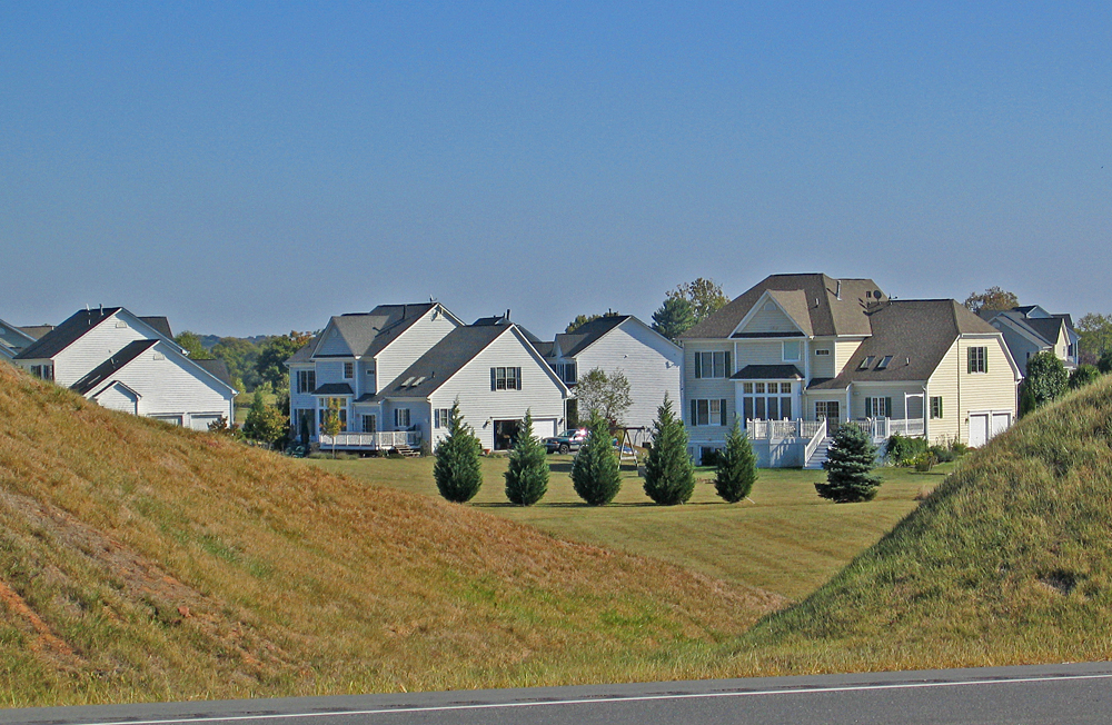 "Photo of ""McMansions"". Credit: Brett VA - CC BY 2.0."