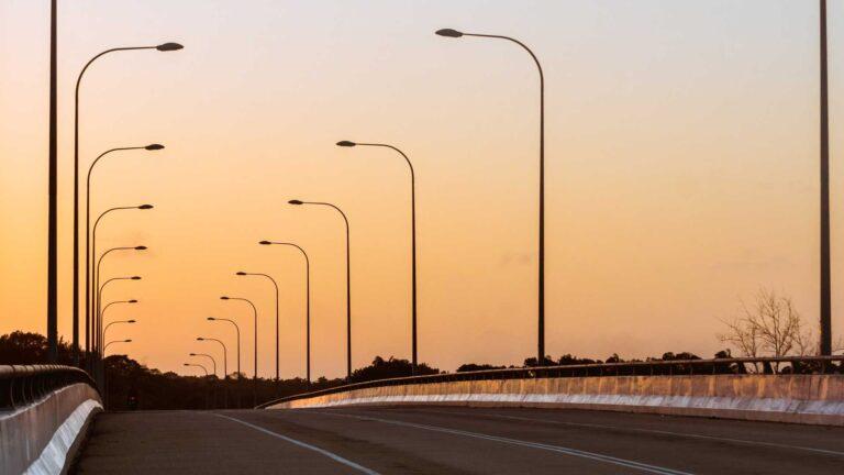 Photo of a highway bridge. Credit Ajai Arif.